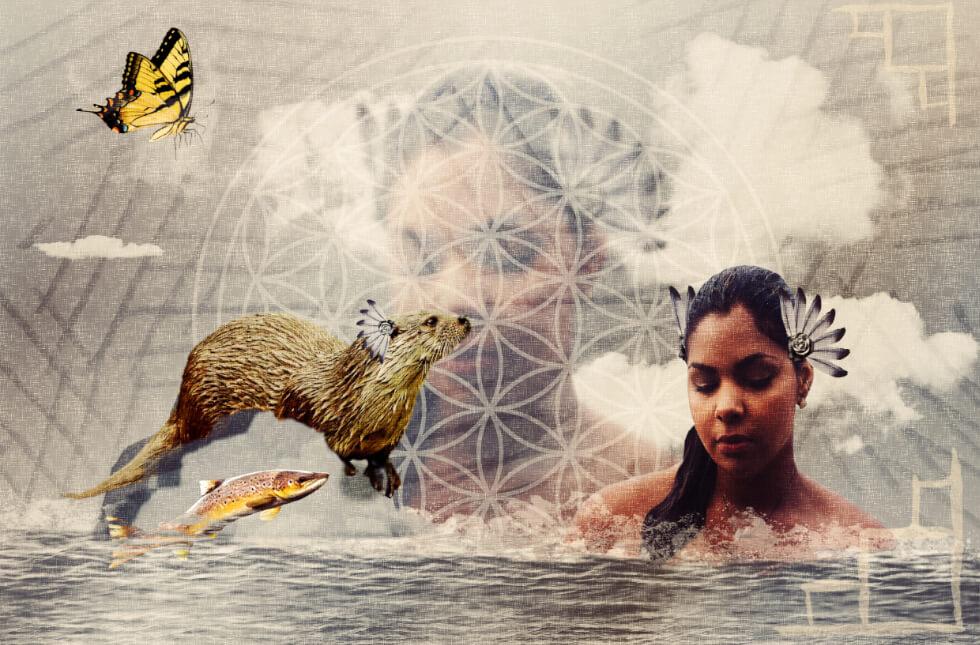 Indianisches Sternzeichen: Otter